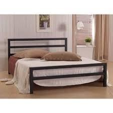 Single Beds Metal Frame Black Metal Bed Frame Single Adults Bedroom Modern Home
