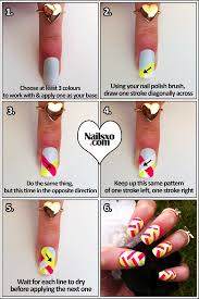 fishtail braided nail art step by step tutorial nailsxo