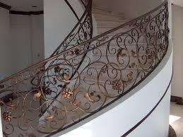 Spiral Stair Handrail Pro Fusion Ornamental Iron Inc