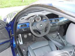 bmw blue interior interior trim in blue