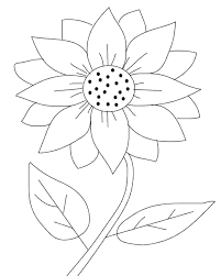 Printable Sunflower Coloring Pages Coloring Me Sunflower Coloring Page