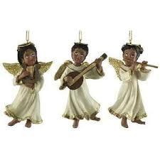 set of 3 american ornaments home