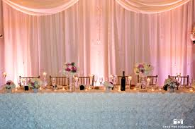 wedding backdrop images and draping