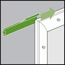 How To Hang Blinds On A Door Installation Instructions For Odl Add On Blinds Between Glass Door