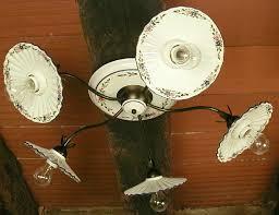 ladari rustici in ceramica 2020 plafoniera in metallo e piatti in ceramica decorata