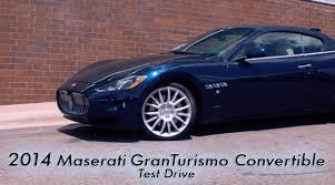 maserati granturismo convertible 2014 maserati granturismo convertible test drive morrie u0027s luxury
