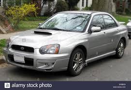 subaru 2004 2004 2005 subaru impreza wrx sedan 03 16 2012 stock photo royalty