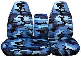 blue camo car seat covers digital camo seat covers f150 velcromag