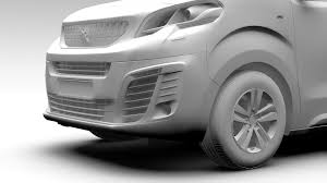 peugeot sports car 2017 3d peugeot traveller l2 2017 cgtrader