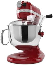 Kitechaid Red Kitchenaid Mixer 6 Quart Kp26m1xer