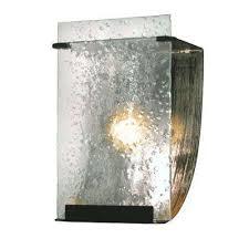 Recycled Bathroom Vanities by Black Frosted Clear Vanity Lighting Bathroom Lighting The