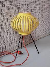 Esszimmerst Le Yellow Diepuppenstubensammlerin Puppenstube Mit Gelber Stehlampe 1965