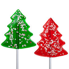 2oz peppermint tree lollipops by melville candy