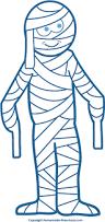 halloween mummy clipart 5