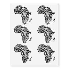 african temporary tattoos zazzle