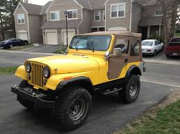 cj jeep yellow 1978 jeep cj5 columbus ohio