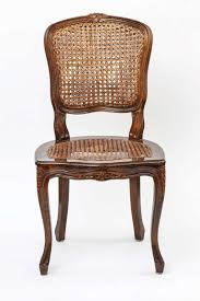 chair set of 4 country french cane chairs at 1stdibs dining table