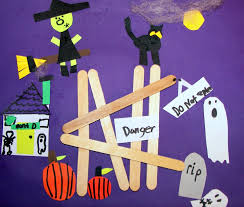 halloween craft k 8 art