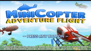 minicopter adventure flight game sample wii youtube
