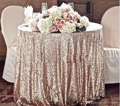 custom size sparkly sequin table cloth garden wedding party