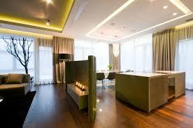 Kitchen Living Room Divider Ideas Curved Grey Granite Stone Kitchen Living Room Divider Ideas For