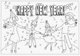 happy new year preschool coloring pages happy new year coloring pages 2018 free printable happy new year s