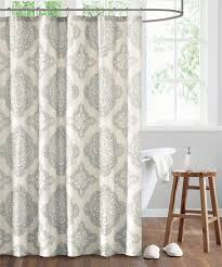 modern and luxury shower curtains echo design