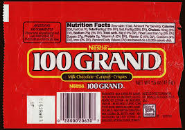 where can i buy 100 grand candy bars cc nestle 100 grand chocolate candy bar wrapper 1990