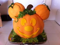 mickey mouse halloween pumpkin cakecentral com