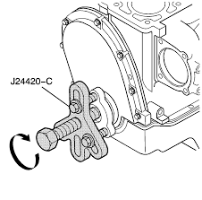 repair instructions crankshaft pulley and hub removal 1999