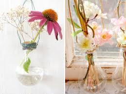 Flower Light Bulbs - diy lightbulb vases weddings by lilly