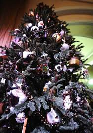 black tree ornaments black tree ornaments a