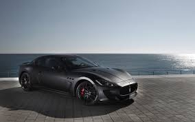 maserati quattroporte black rims matte black maserati gran turismo packair the name to trust