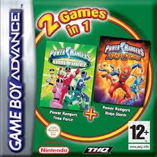 power rangers wild force game boy advance game