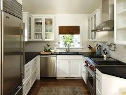 100 u shaped kitchen designs with island open white cabinet