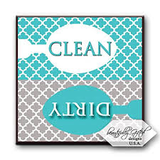 registry for housewarming clean dishwasher magnet sign for dishes