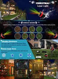 Christmas Laser Light Show Amazon Com Christmas Lights Laser Star Lights Shower Projector