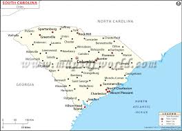 usa carolina map cities in south carolina south carolina cities map