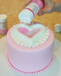 raised heart cake tutorial by my cake my cake