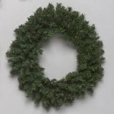 6 mini pine artificial wreath unlit walmart