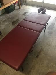 oakworks portable massage table used oakworks wellspring advanta alliance metal portable massage