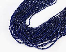 sapphire beads necklace images Sapphire beads etsy jpg
