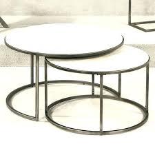 glass nesting coffee tables round nesting coffee table cfee round glass nesting coffee tables