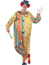 Mens Clown Halloween Costumes Clown Town Costume Mens Clown Halloween Costumes