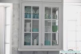 Kitchen Glass Cabinet by Kitchen Shelf Decor The Sunny Side Up Blog