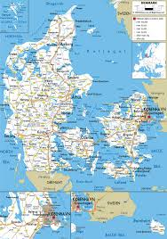 Map Of Spain With Cities by Maps Of Denmark Detailed Map Of Denmark In English Tourist Map