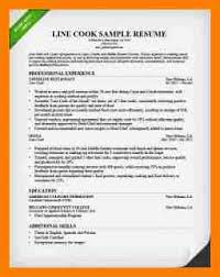 Sample Line Cook Resume by 4 Chronological Resume Samples Sephora Resume