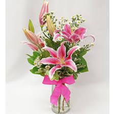 Pink Lily Flower Ballard Blossom Inc Perfectly Pink Lily Seattle Wa 98107 Ftd