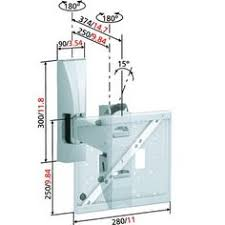 ricoo support tv mural orientable s1611 support tele ecran plat pc