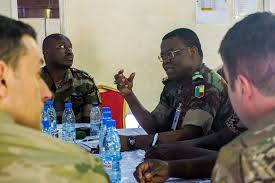 Table Top Exercise by United States Army Africa